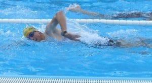 Rotation und hoher Ellenbogen im Wettkampf