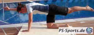 Rücken- und Gesäßmuskulatur